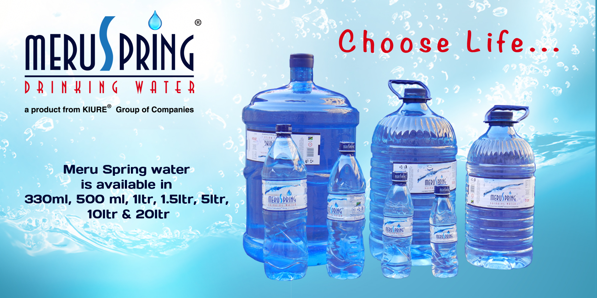 Where to order drinking water 48